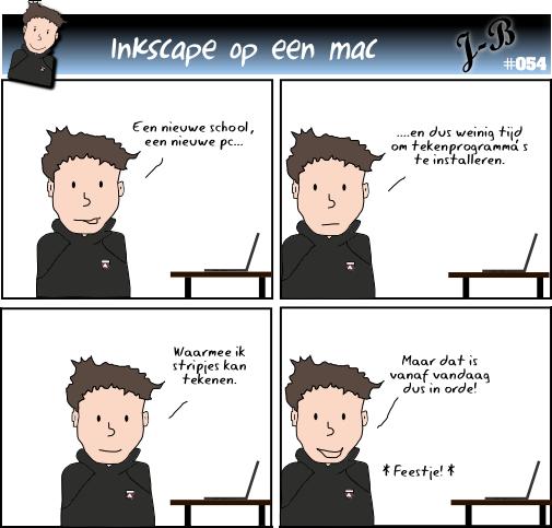 Inkscape op een mac