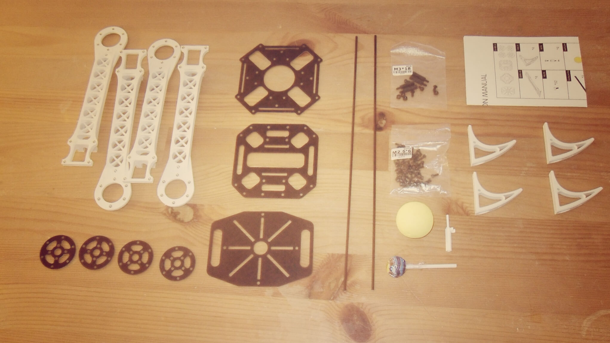 SK 450 Multicopter parts